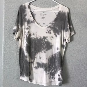 tie dye shirt from ae